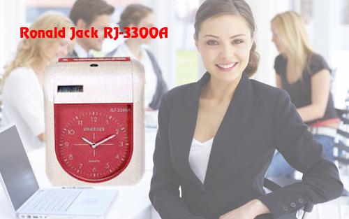 Hình ảnh máy chấm công thẻ giấy Ronald Jack RJ-3300A